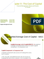 Chapter 9-Cost of Capital