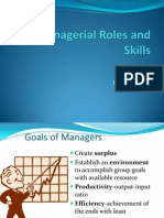 Managerial Roles and Skills
