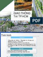 Cải thiện tình hình giao thông tại Tp. HCM