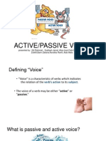 Bi Presentation(active and passive voice)