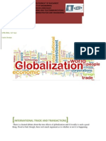 Homework 1- Globalization