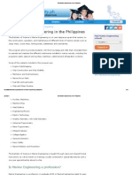 BS in Marine Engineering in the Philippines