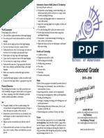 grade 2 curriculum brochure