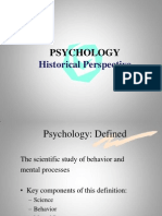Presentation on PSYCHOLOGY