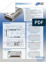 Amp PS150A24 Datasheet