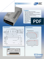 Amp PS320A48 Datasheet