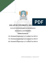 SE New Syllabus Mechanical Solapur University
