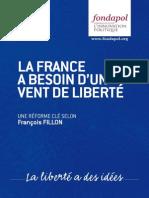 La France a besoin d'un vent de liberté - Une réforme clé selon François Fillon