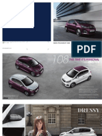 Peugeot 108 Range Brochure