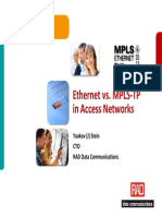 Ethernet vs MPLS