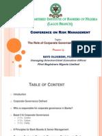 Conference on Risk Management
