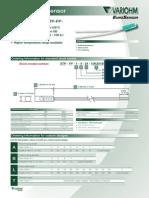 Variohm ETP-PP Temperature Sensor 1208 D