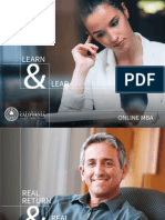 Learn and Lead - Online MBA