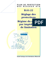B.61-22 Reglage Des Protections