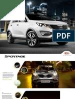 13001669 Kia Sportage Brochure Ita24pint Spread