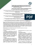 o Diário de Bordo Como Fonte de Informação Para Geração Dos Índices de Desempenho Operacional