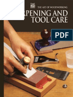 The Art of Woodworking Sharpening and Tool Care
