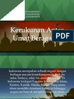 KERAGAMAN AGAMA DI INDONESIA