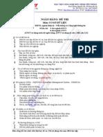 345 câu Trắc Nghiệm Hệ Cơ Sở Dữ Liệu có đáp án