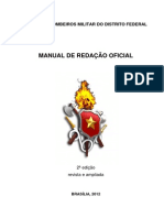 Manual de Redação Oficial Do CBMDF