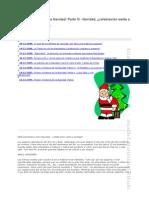 Origen e historia de la Navidad