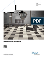 Marmoleum Modular Brochure 2014 UK FINAL