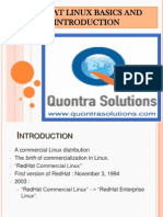 Red Hat Linux Features by Quontra Solutions