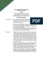 Permendageri No 7 2007 Kader Pemberdayaan Masyarakat