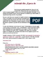 """Manuale Școlare Românești Vechi, Din """"Epoca de Aur"""" (Digitalizate in Format PDF)"""
