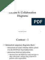 Lecture 6 Collaboration Diagrams
