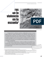 Las Figuras de La Violencia en La Escuela (Dubet)
