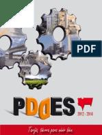 Cartilla Resumen PDDES 2012 - 2016