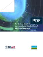 Rwanda Fertilizer Import and Distribution Investment Case