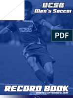 UCSB Men's Soccer RecordBook 2009