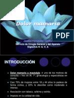 Actuación Ante El Dolor Mamario