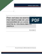 Fray Antonio de Montesinos y Fray Bartolome de Las Casas - Iniciadores de La Lucha Contra El Colonialismo en America