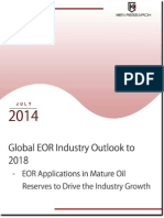 Global EOR Market Value is expected to reach USD 640 Billion by 2018
