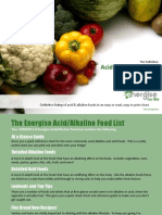 Alkaline Food Chart 2.8