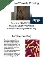 Principles of Termite Proofing - BCM Seminar