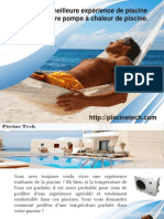 Profitez de la meilleure expérience de piscine avec la meilleure pompe à chaleur de piscine.