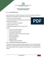Plano Curricular de Engenharia Informatíca