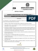 Agente Profis Sistema Agente Fisc I