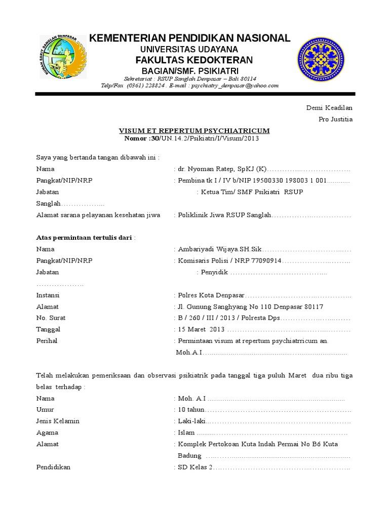 Surat Visum Psyc Contohdoc