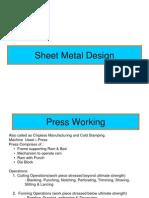 Sheet Metal Design