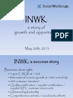INWK Marketing Strategy - 5.12.13