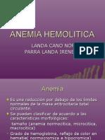 ANEMIA HEMOLITICA pato