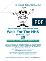 Walk for the NHS_ Flyer