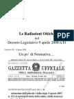 84DL 81_08 e Radiazioni Ottiche_UAI Ferentino 16 Giugno 08