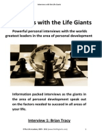interviews with life giants
