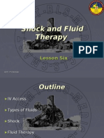 Chapter 6 - Shock and Fluid Therapy